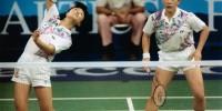 Barcelona 1992 OG, Badminton, doubles Women - Final, Republic of Korea (KOR) 1st - People's Republic of China (CHN) 2nd. The team of the Republic of Korea (KOR) 1st.