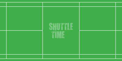 The court is rectangular and divided into halves by a net. Courts are usually marked for both singles and doubles play, although badminton rules permit a court to be marked for singles only. The doubles court is wider than the singles court, but both are of same length. The exception, which often causes confusion to newer players, is that the doubles court has a shorter serve-length dimension.