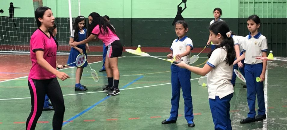 First Badminton Workshop In Cartago City Costa Rica Instructed By